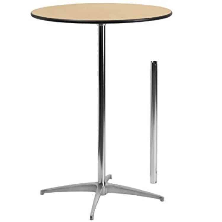 30 Round Cocktail Table (Standing Height-42)