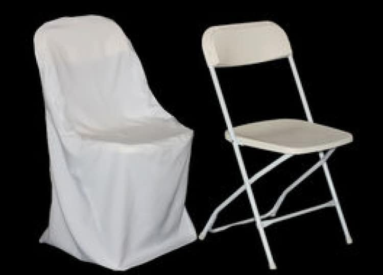 White Chair Cover (Polyester)