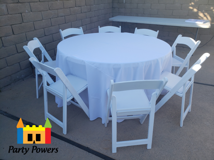 120 Round Tablecloth (Polyester)